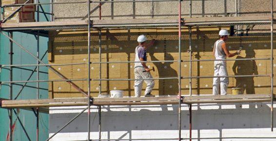 Tabiques pluviales: Trabajos verticales de Top Verticals Rehabilitacións