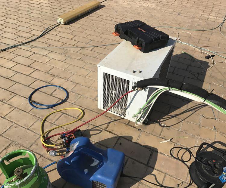 Servicio técnico de frío industrial en Sevilla