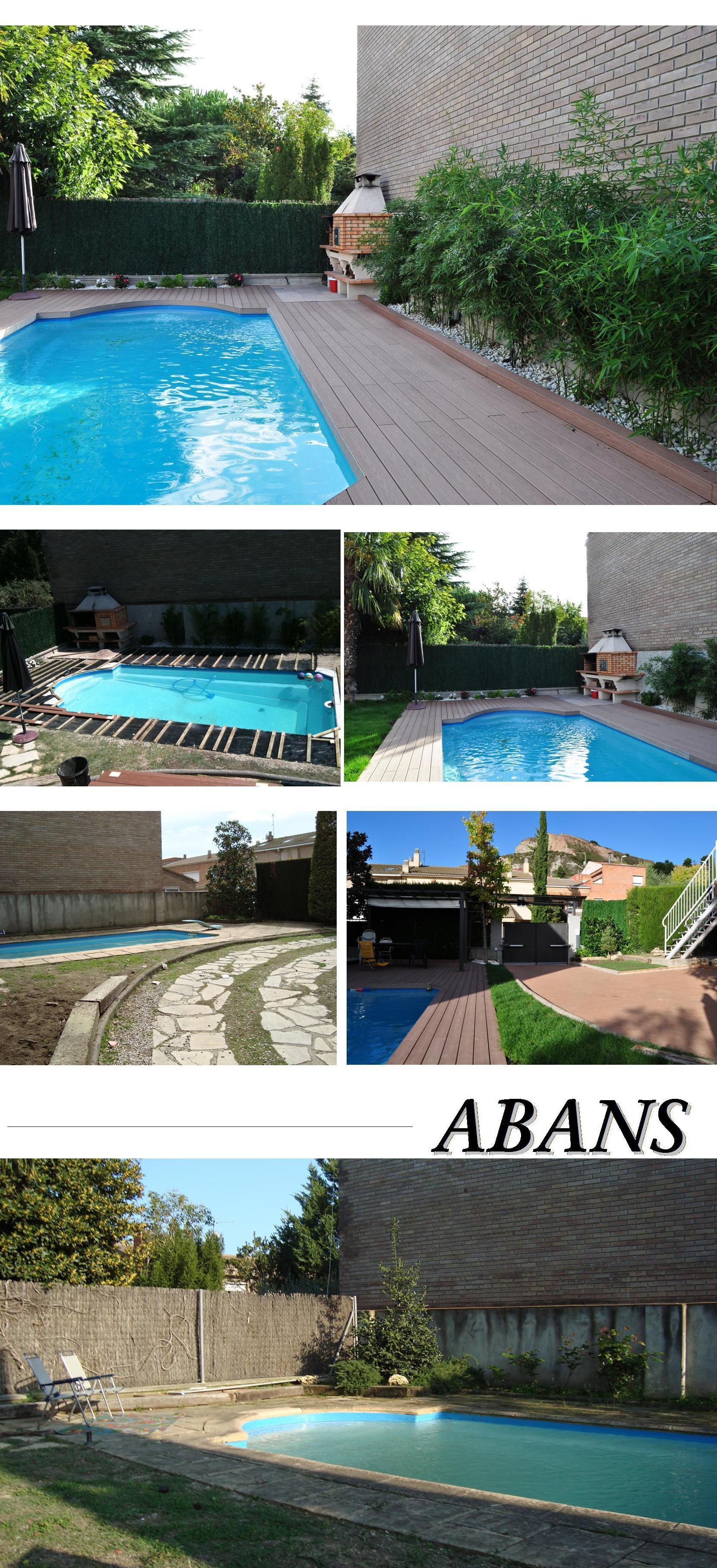 Pavimento piscina madera artificial: Productos  de Gres de l'Anoia