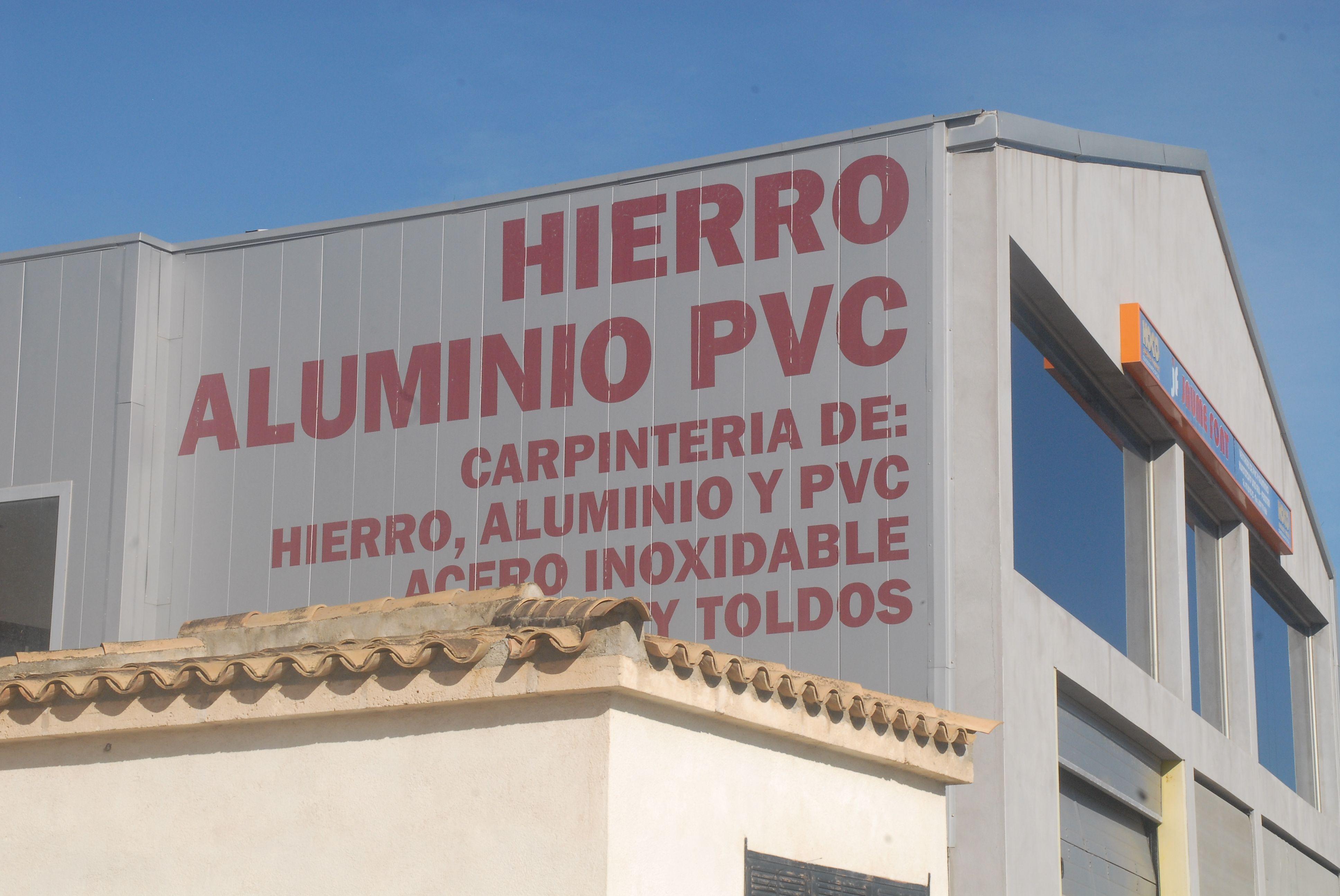 Carpintería de hierro, aluminio y PVC en Mallorca