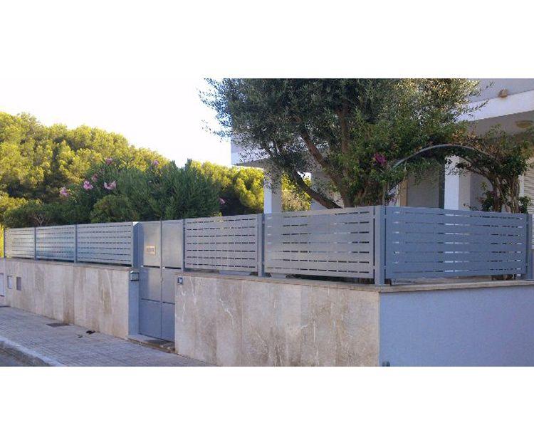 Cerramientos metálicos en Mallorca