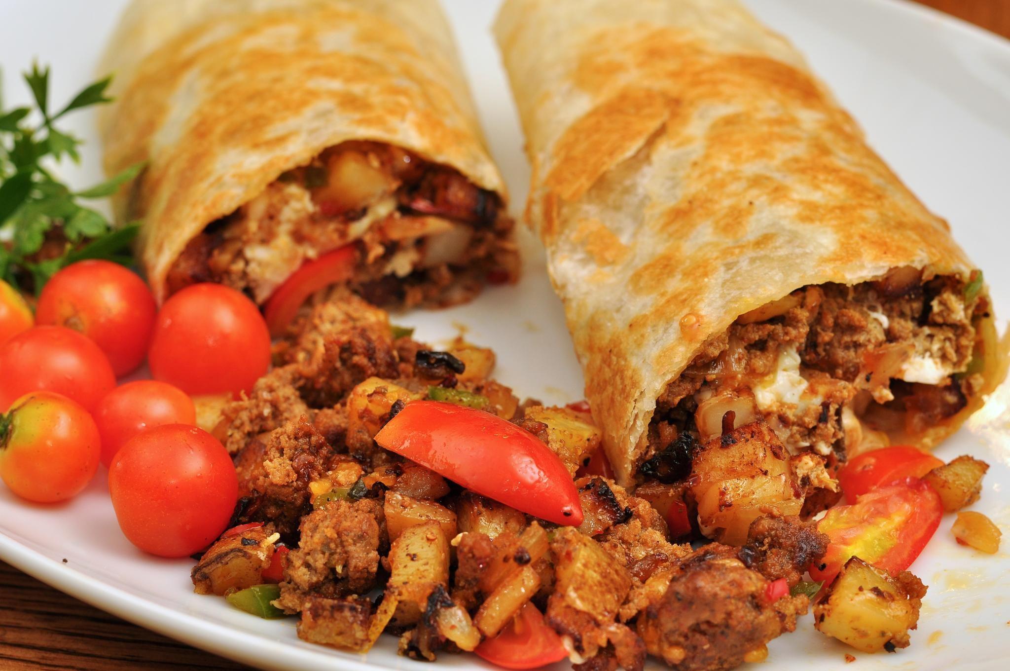 Burritos: Carta de Ay Carmela Antojitos Mexicanos