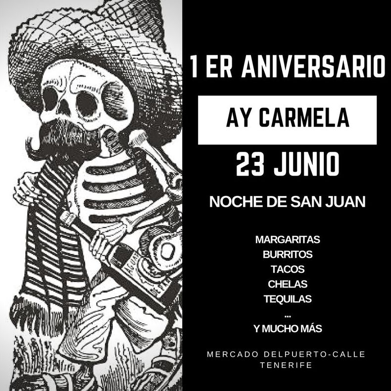Comida Mexicana Las palmas|Ay Carmela