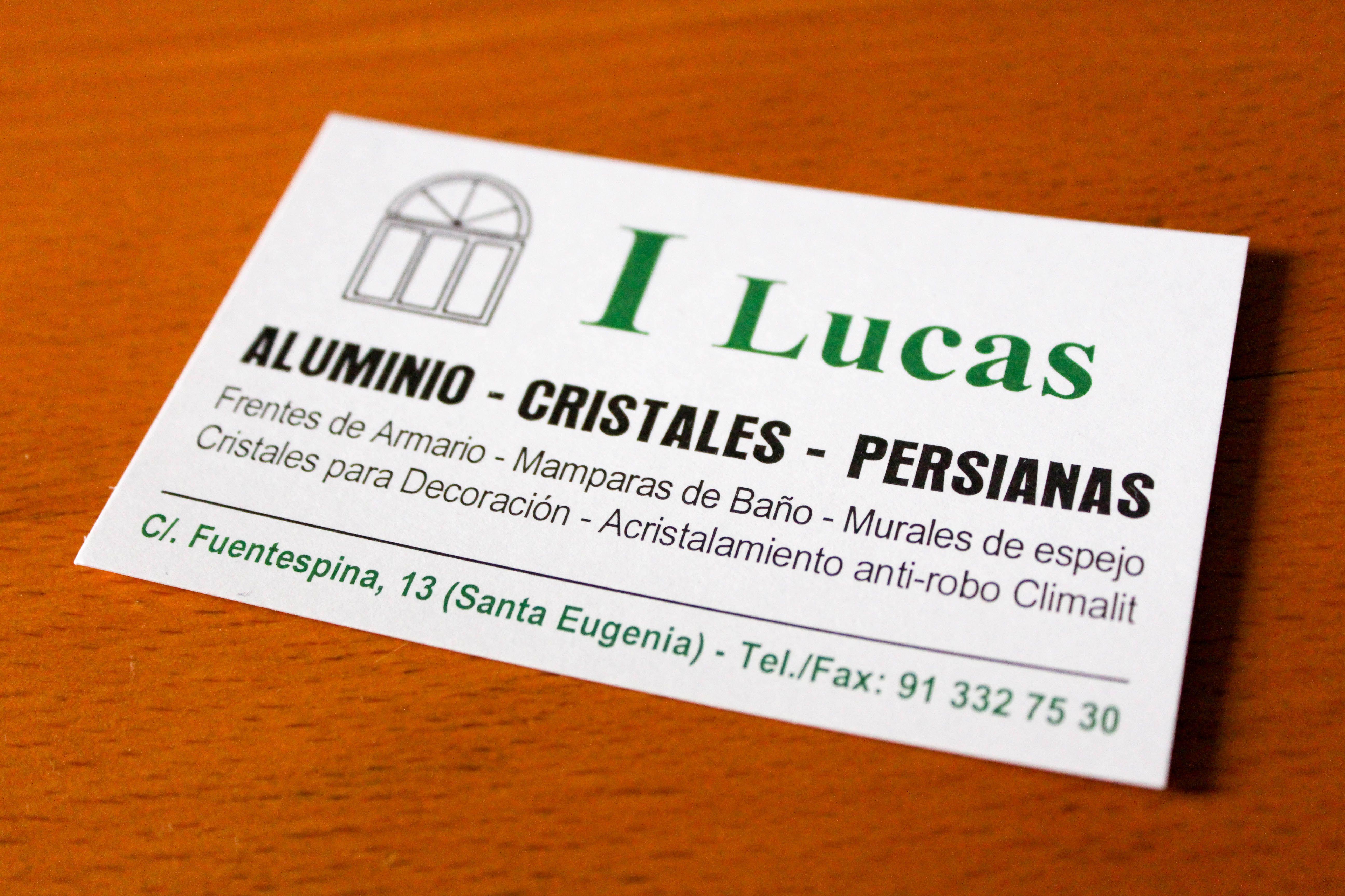Foto 6 de Cristalerías en Madrid | I Lucas