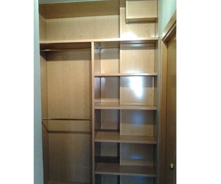 Armarios empotrados e interiores de armario