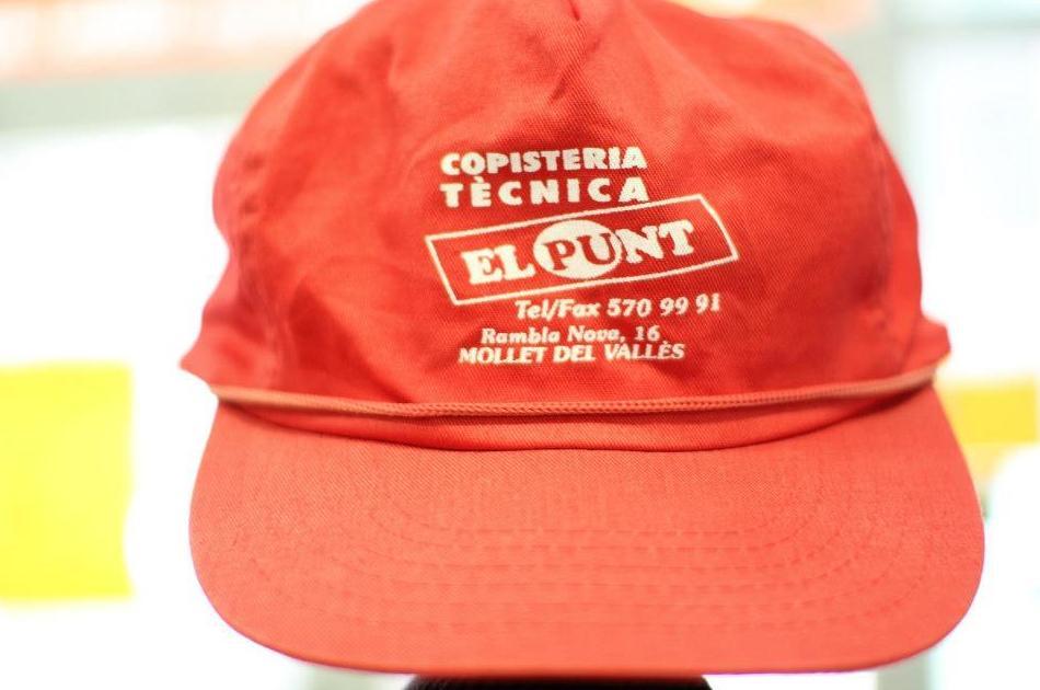 impresión de gorras