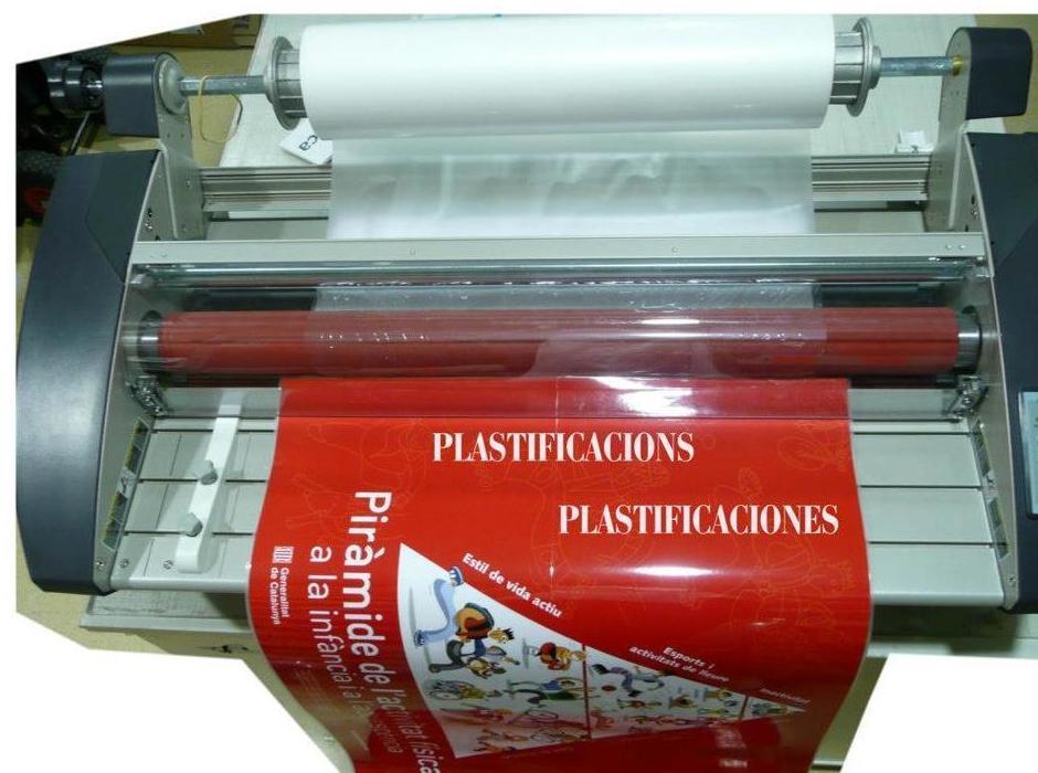 plastificados copisterias técnicas en Barcelona