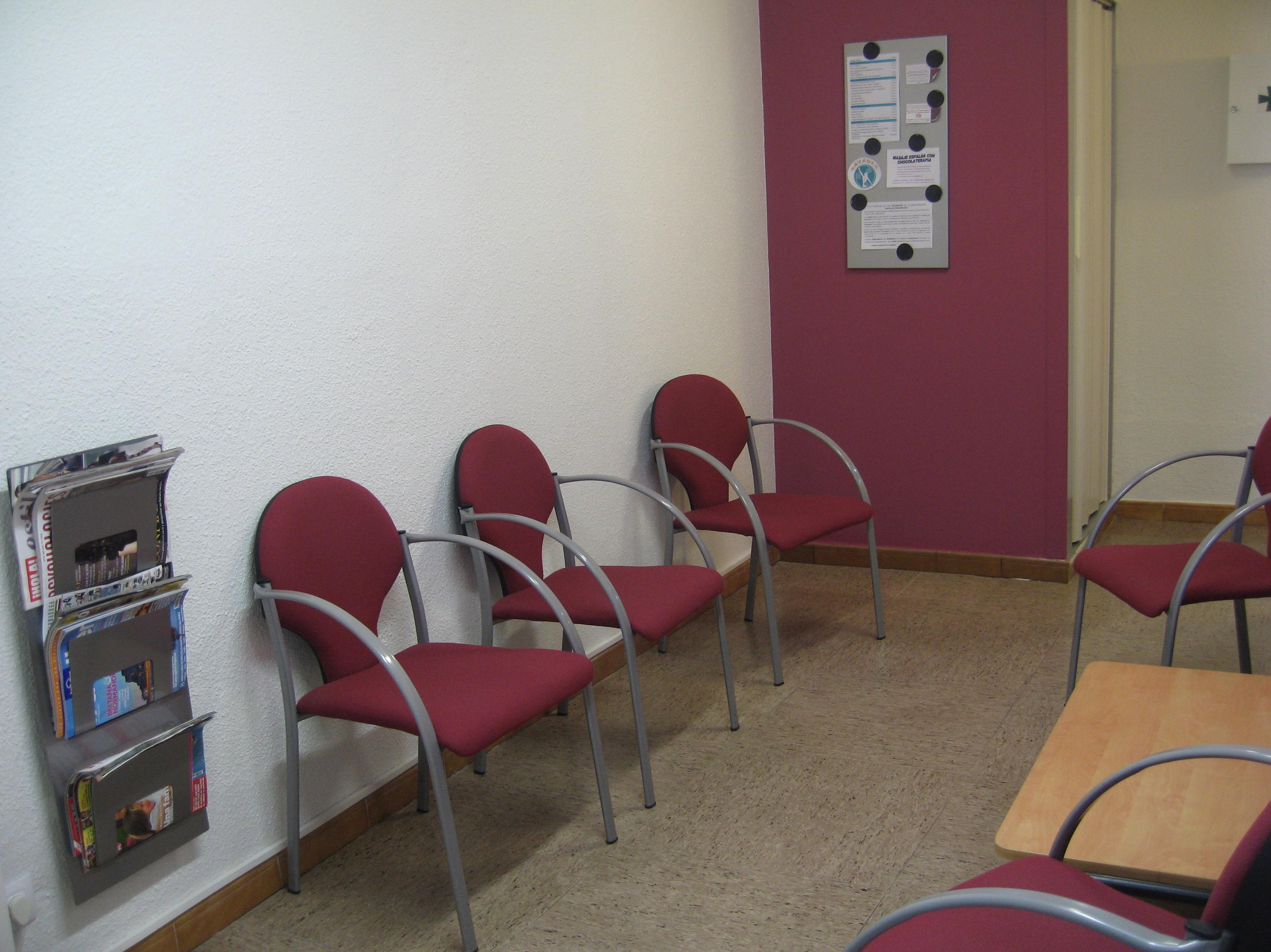 Sala de espera Nayades
