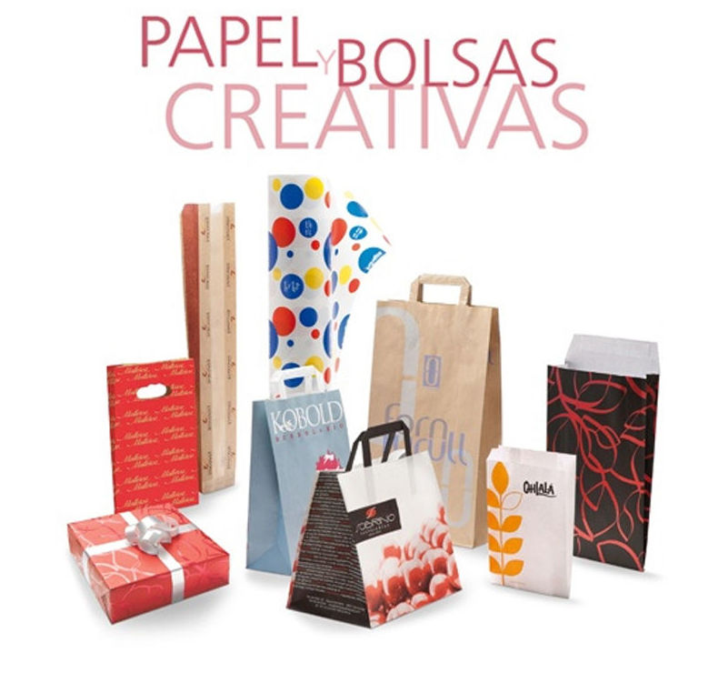 Papel y bolsas creativas en Asturias