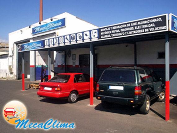 Foto 1 de Aire acondicionado automóviles en San Cristóbal de La Laguna | Mecaclima