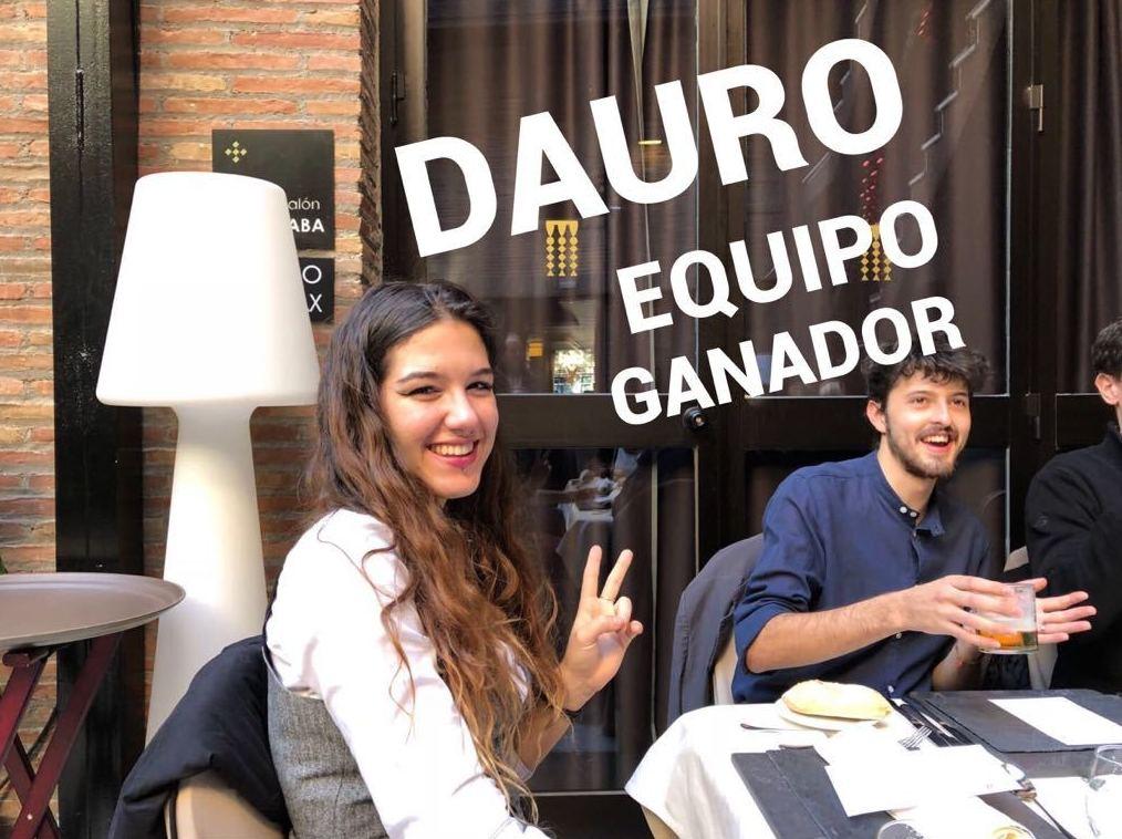 DAURO, EQUIPO GANADOR