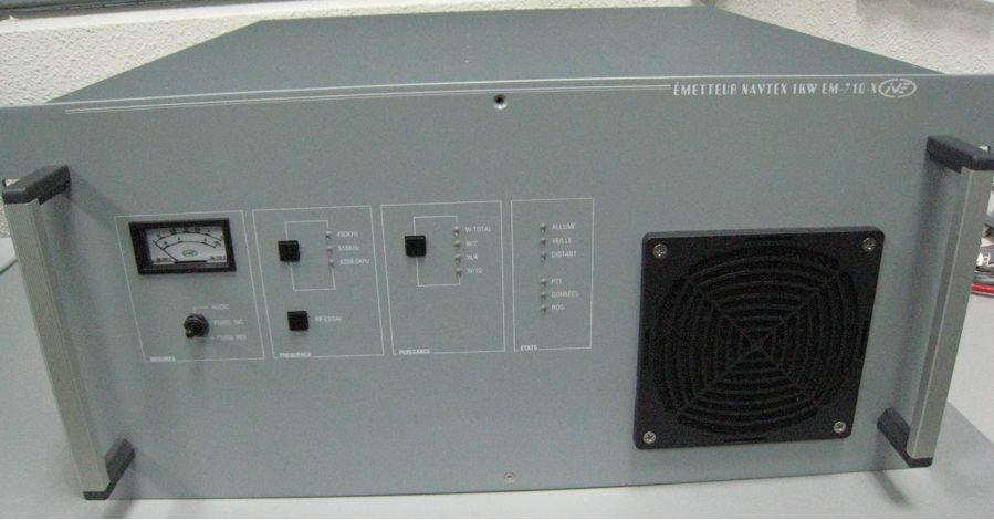 Transmisor Navtex de 1KW (490/518 KHz) Alta eficiencia: Productos de Invelco, S.A.