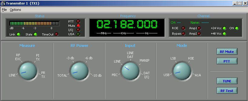 Software de servidor de comunicaciones MF / HF: Productos de Invelco, S.A.