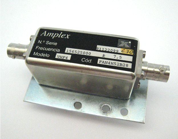 Filtro VHF Canal 70: Productos de Invelco, S.A.