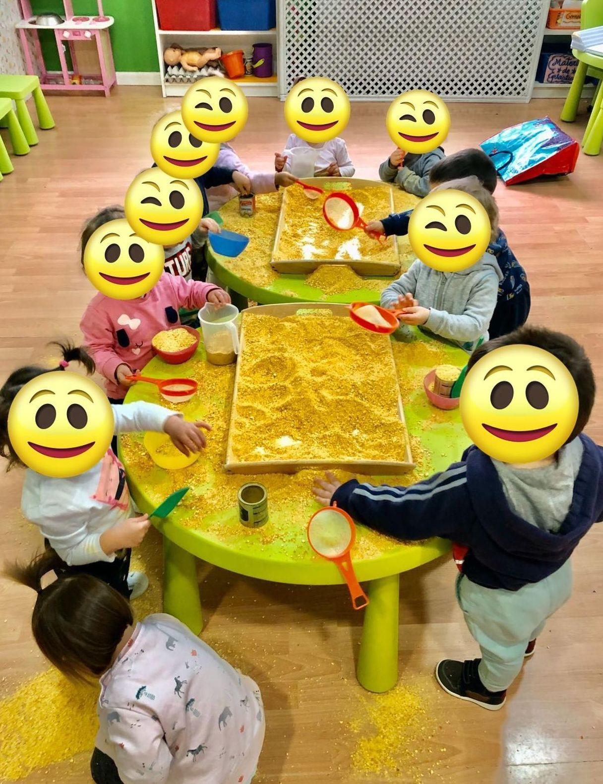 Experimentación Escuela Infantil San Sebastián de los Reyes