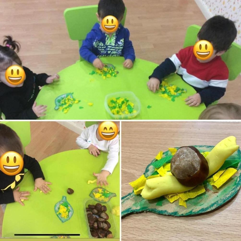 Hacemos Caracoles en Escuela Infantil Cascabel