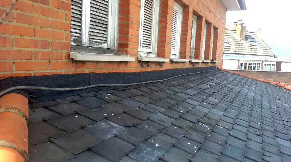 Restauración de cubiertas de pizarra en Oviedo