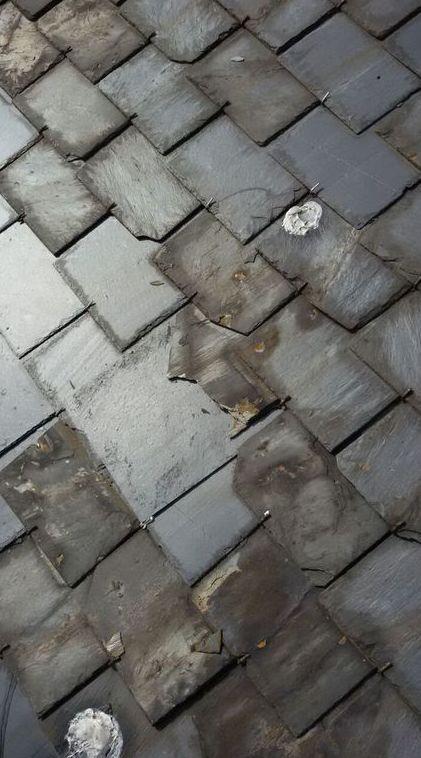 Restauración de tejados de pizarra en Asturias