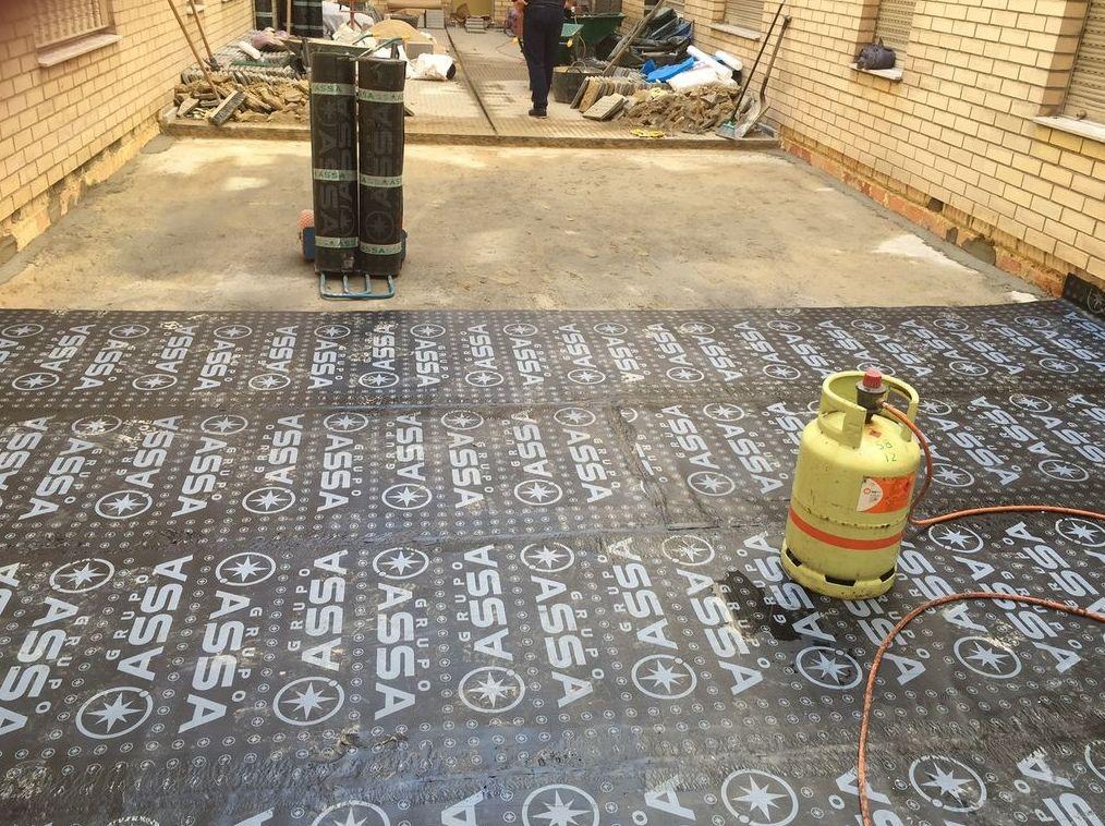 Impermeabilización de cubiertas en Oviedo