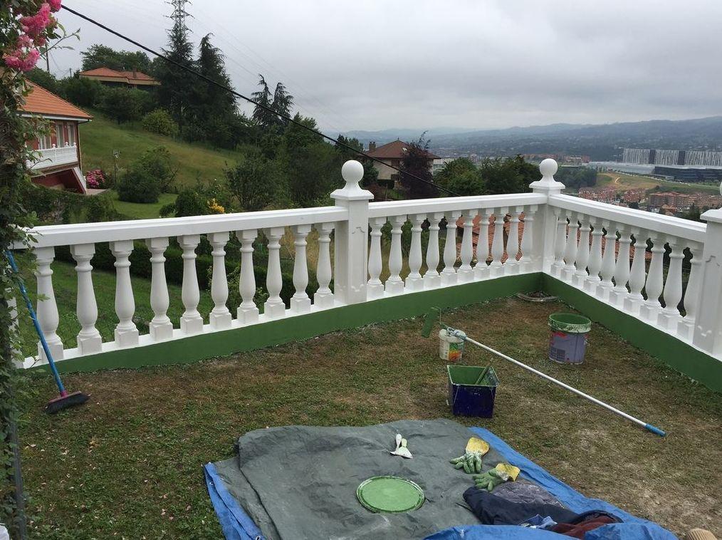 Rehabilitación de terrazas en Oviedo