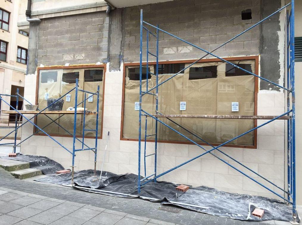 Instalación de locales comerciales en Oviedo