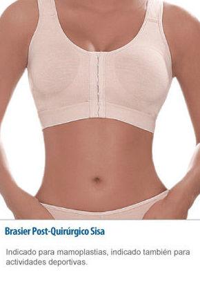Ropa interior indicada para mamoplastias