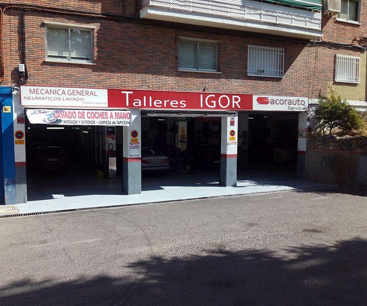Taller de mecánica integral en Alcorcón