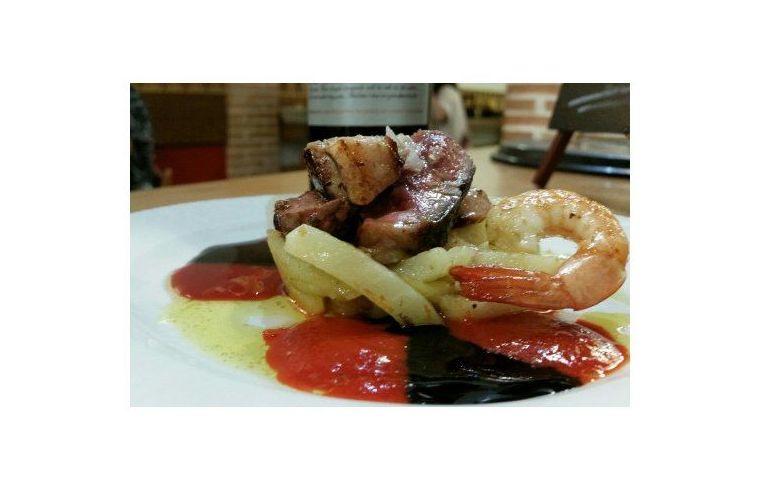Magret de pato: Nuestros platos de La Tapería de Columela
