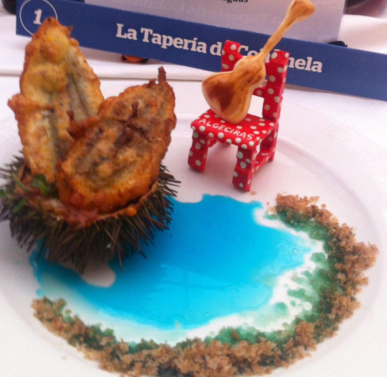 Tapa dedicada a Paco de Lucía y Algeciras