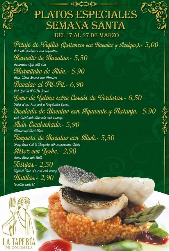Donde comer en Cádiz