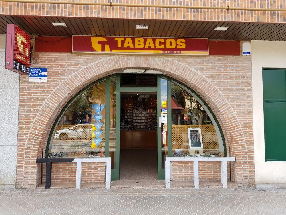 Estanco de tabaco en Pozuelo de Alarcón