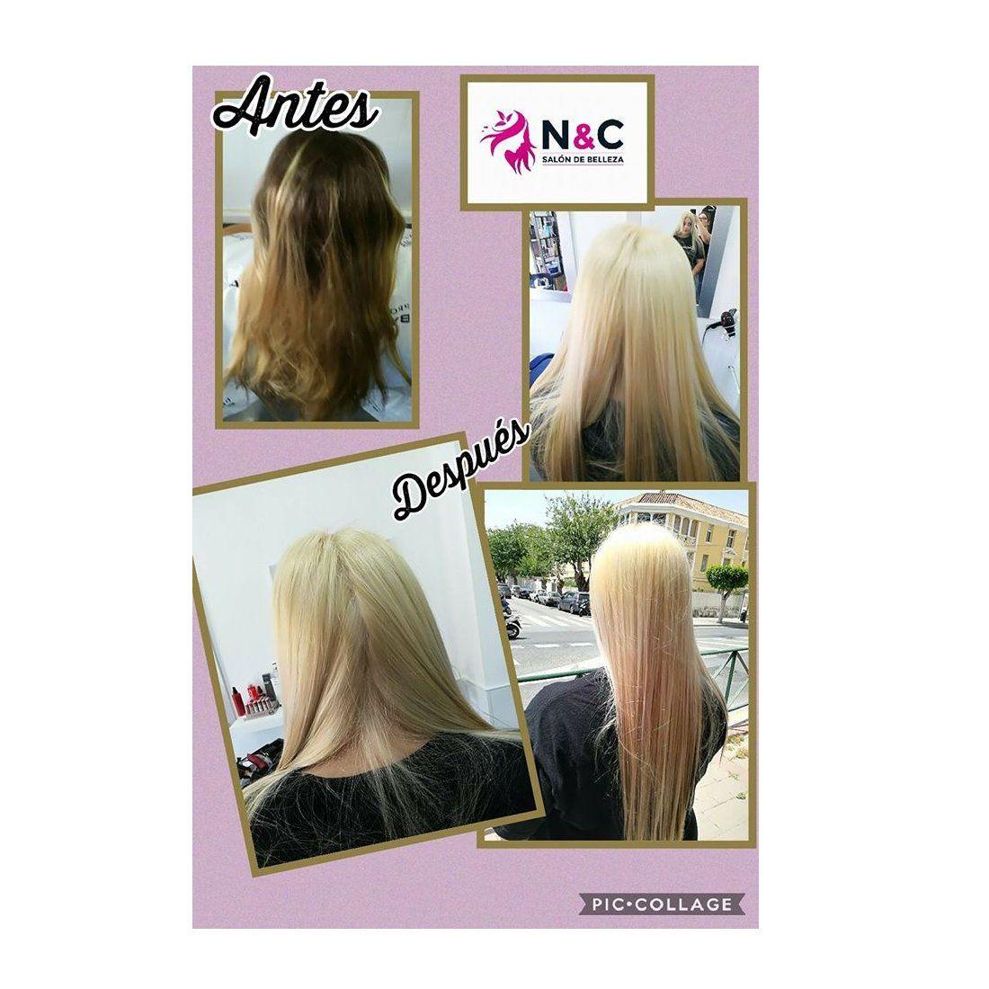 Tratamientos para el cabello: Centro de estética de N&C Salón de Belleza