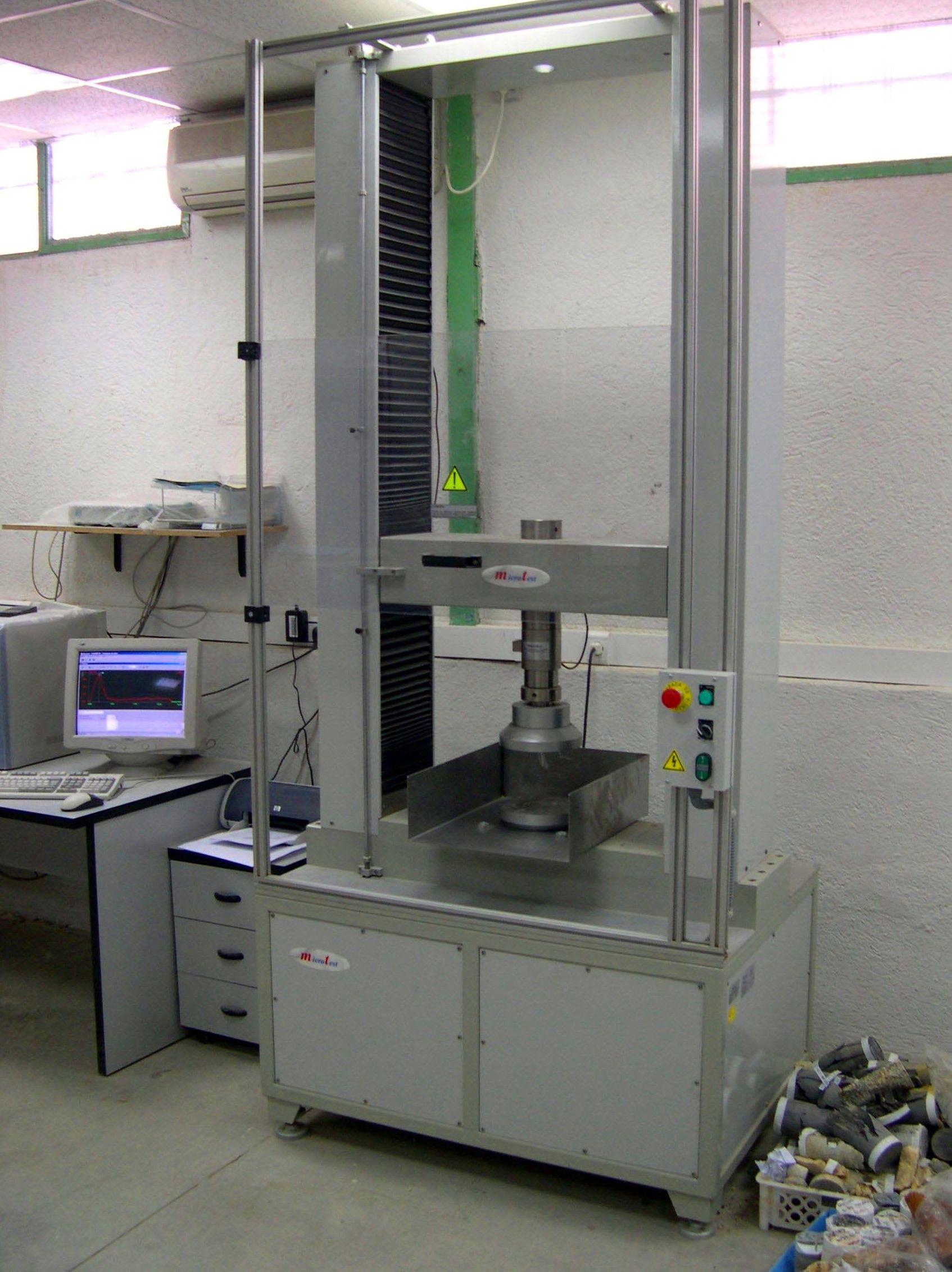 Foto 23 de Laboratorio especializado en ensayos geotécnicos en Fuenlabrada | Cepasa Ensayos Geotécnicos