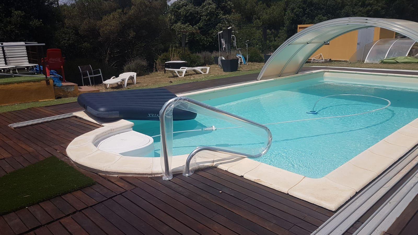 Construcción de piscinas en fincas particulares
