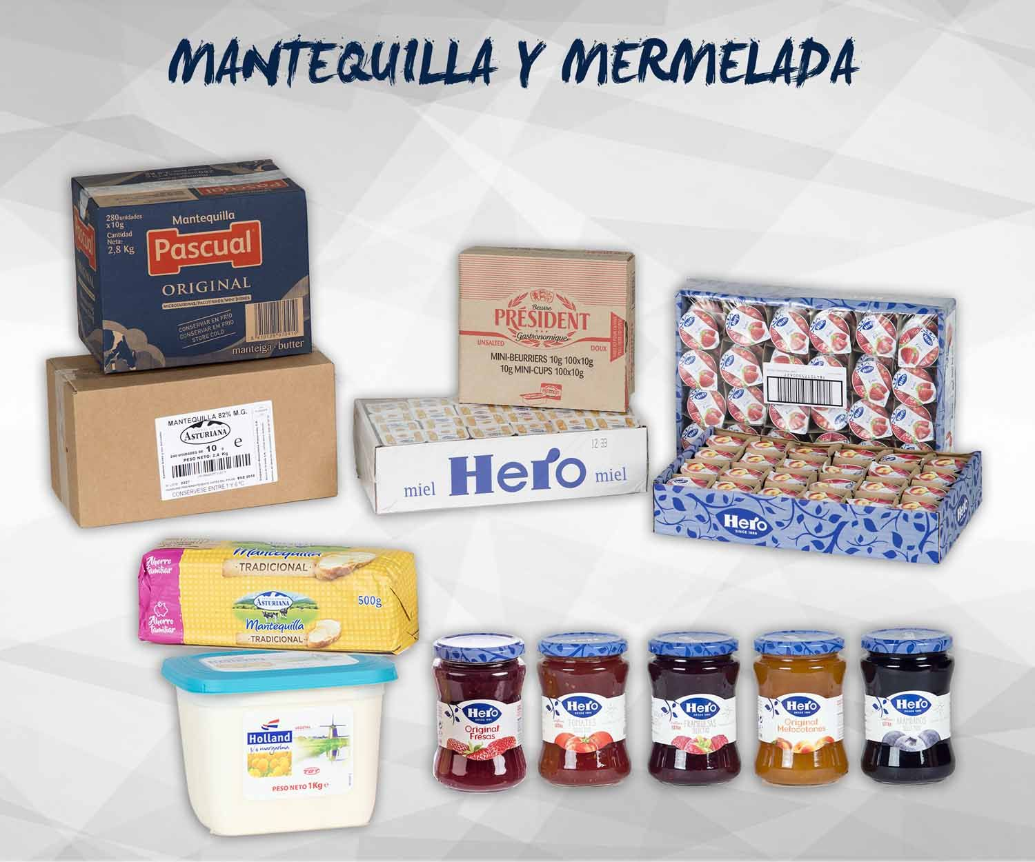 Mantequillas y mermeladas: Productos de Exclusivas San Luis