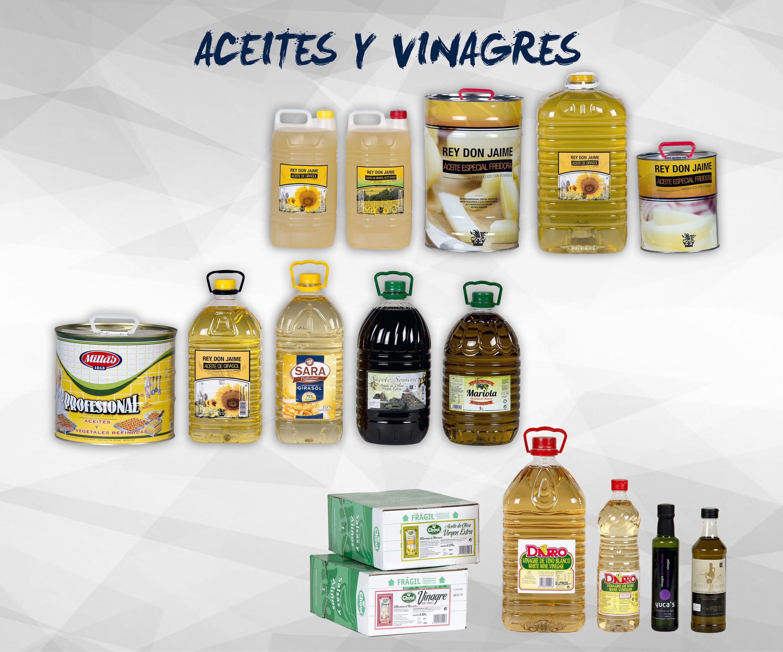 Aceites y vinagres: Productos de Exclusivas San Luis