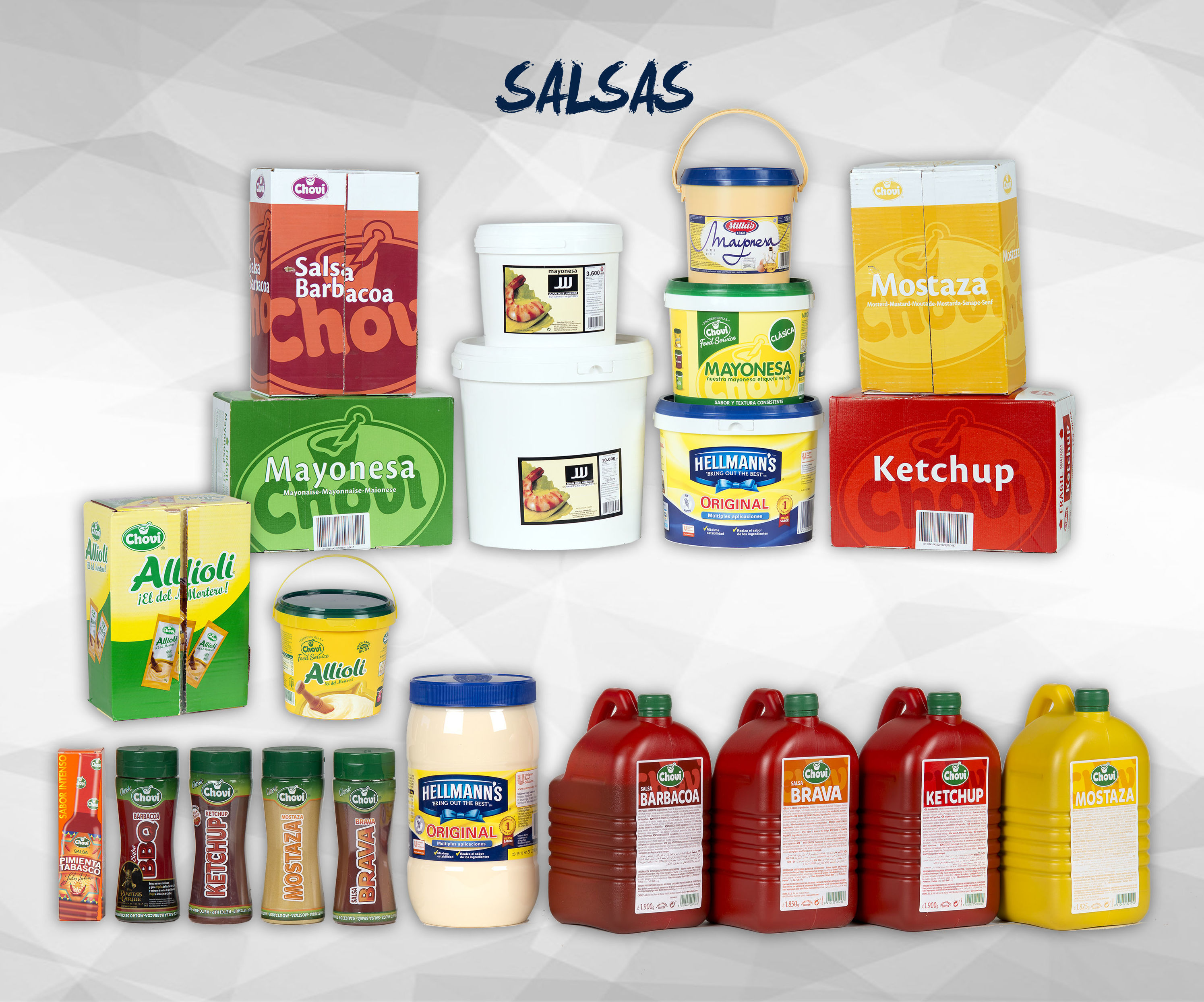 Salsas: Productos de Exclusivas San Luis