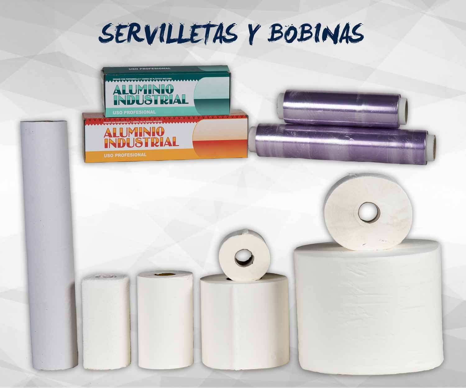 Papel y bobinas: Productos de Exclusivas San Luis