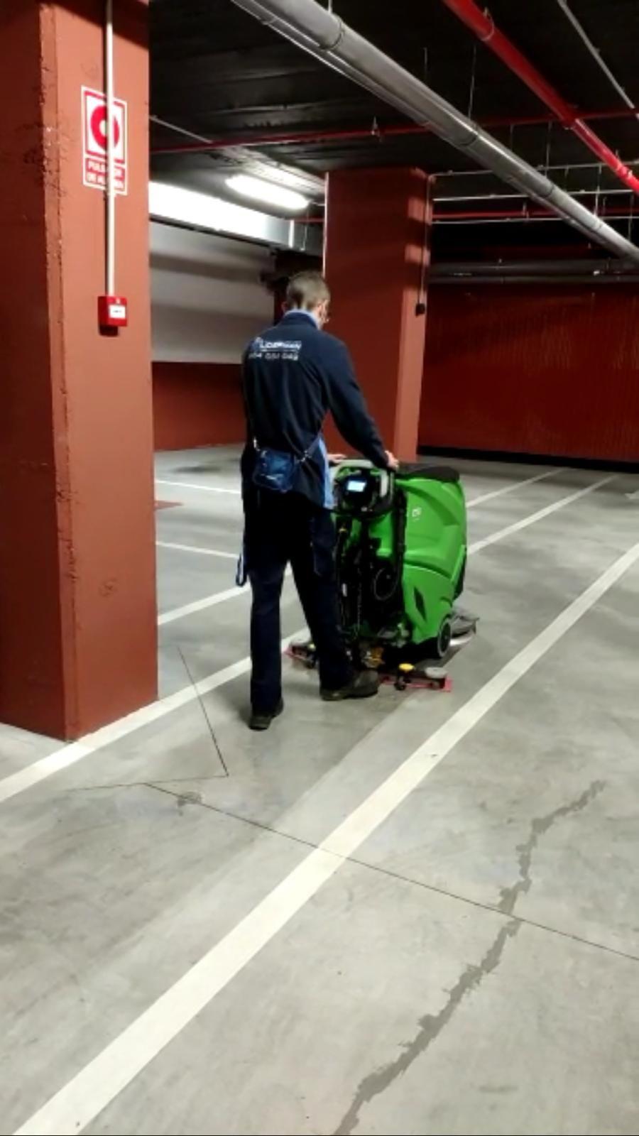 Limpieza de garajes Málaga