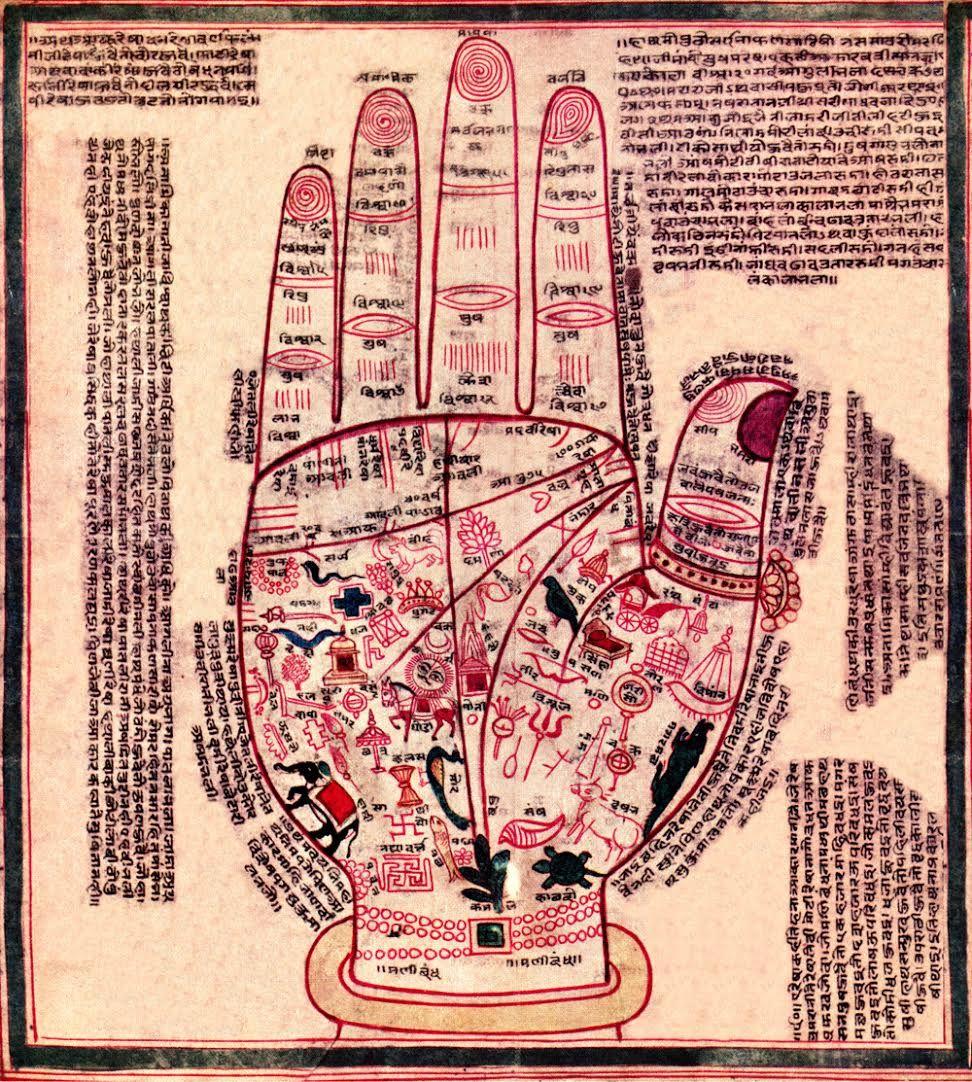 Lectura de manos en Les Corts, Barcelona