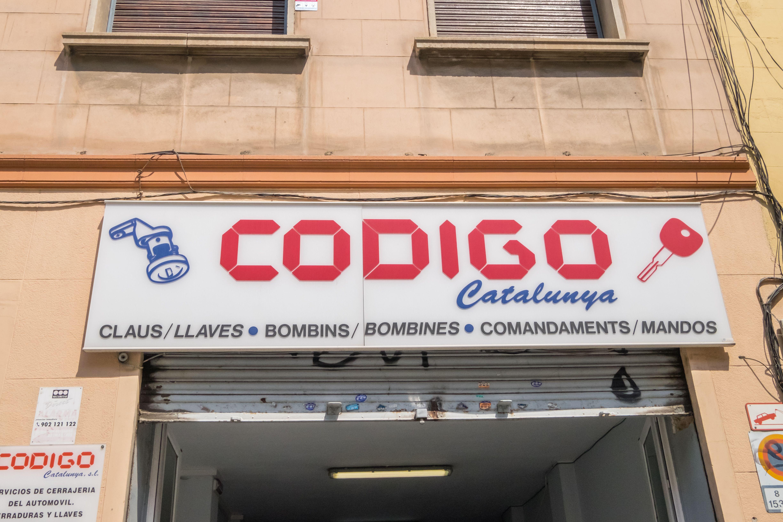 Rótulo de Código Catalunya