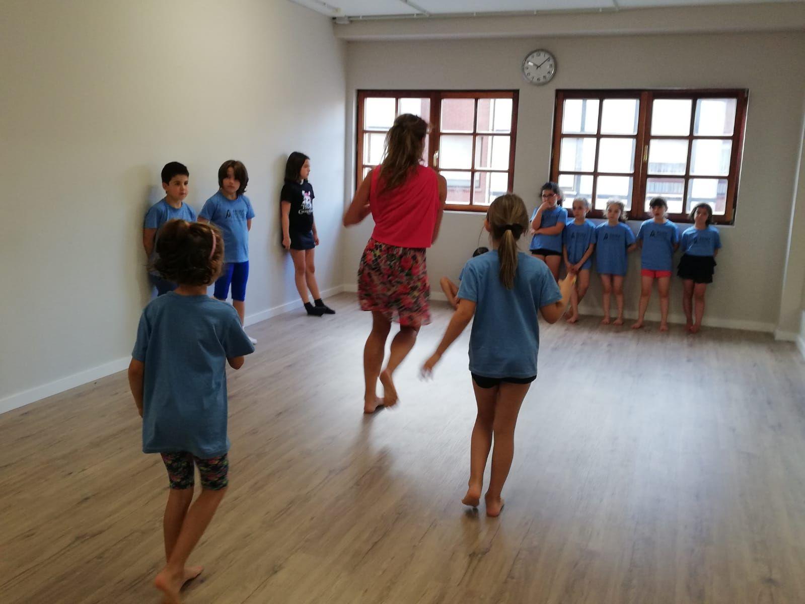 Clases de danza moderna Sopelana