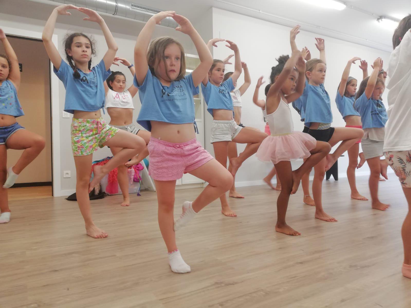 Baile para niños Getxo