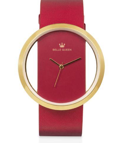 Reloj con correa de piel: Productos de Luisa distribuidora Cristian Lay