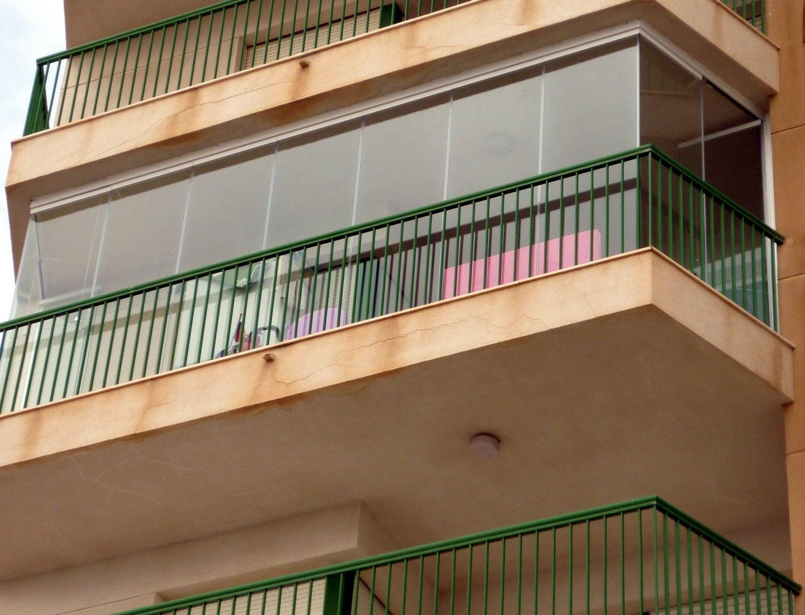 Cortinas de cristal para viviendas Murcia