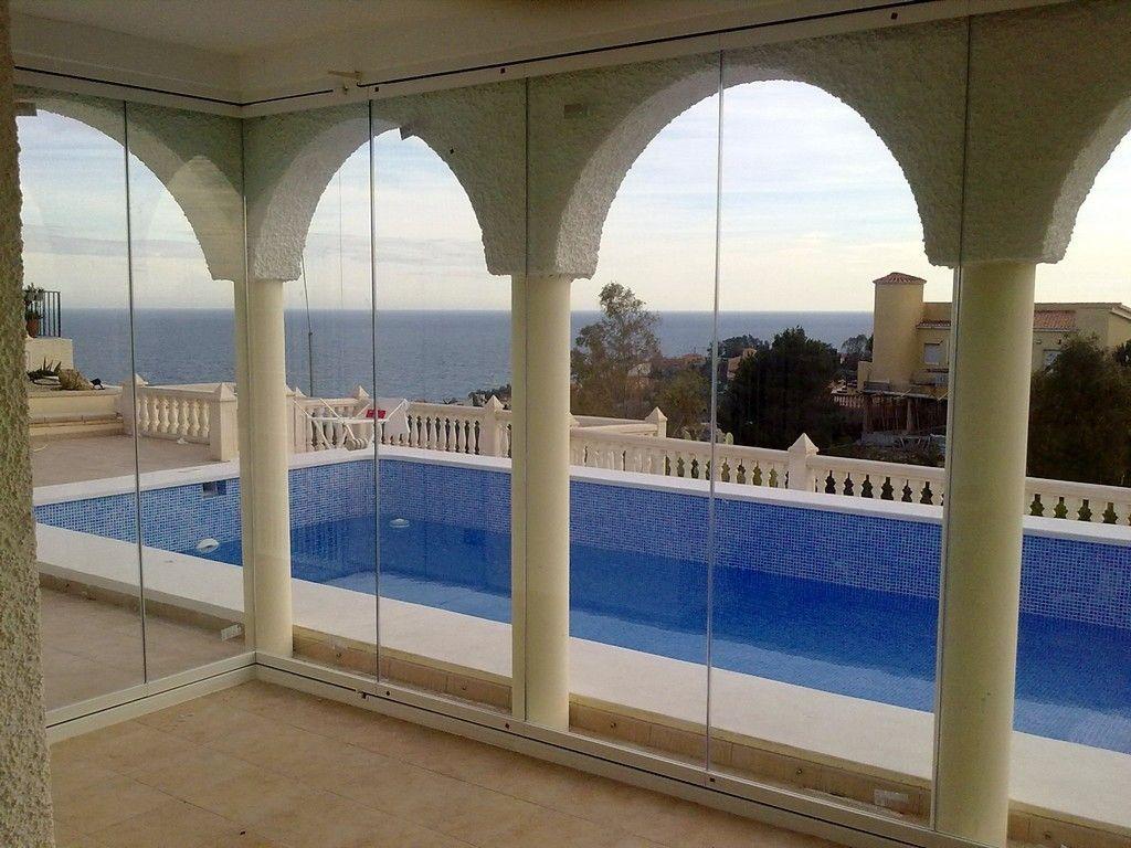Montaje de cortinas de cristal Murcia