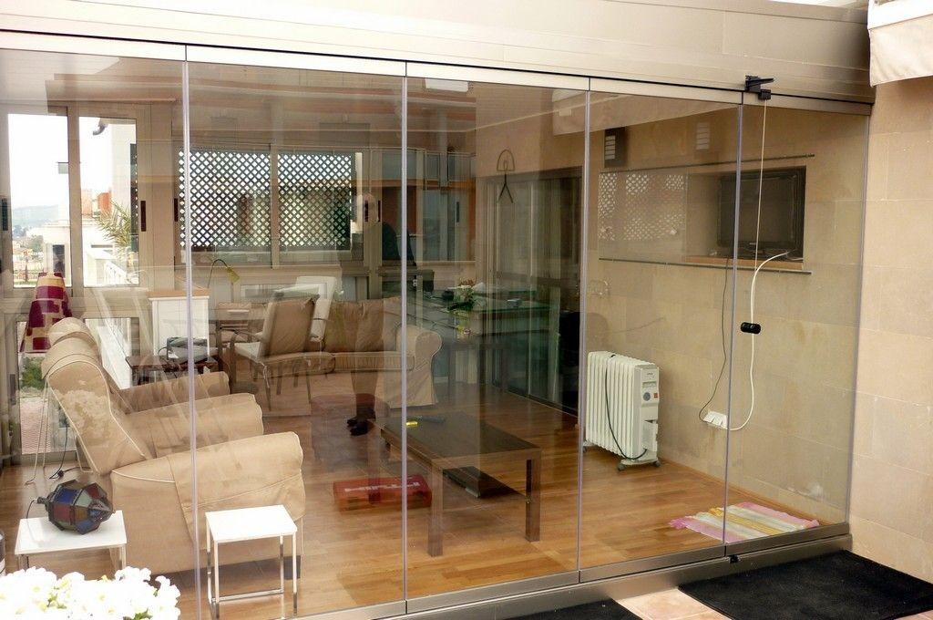 Fabricación cortinas de cristal Murcia