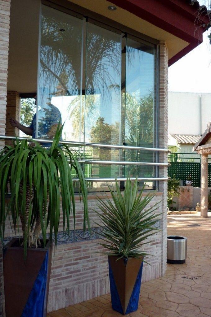 Modernas instalaciones cortinas de cristal Murcia