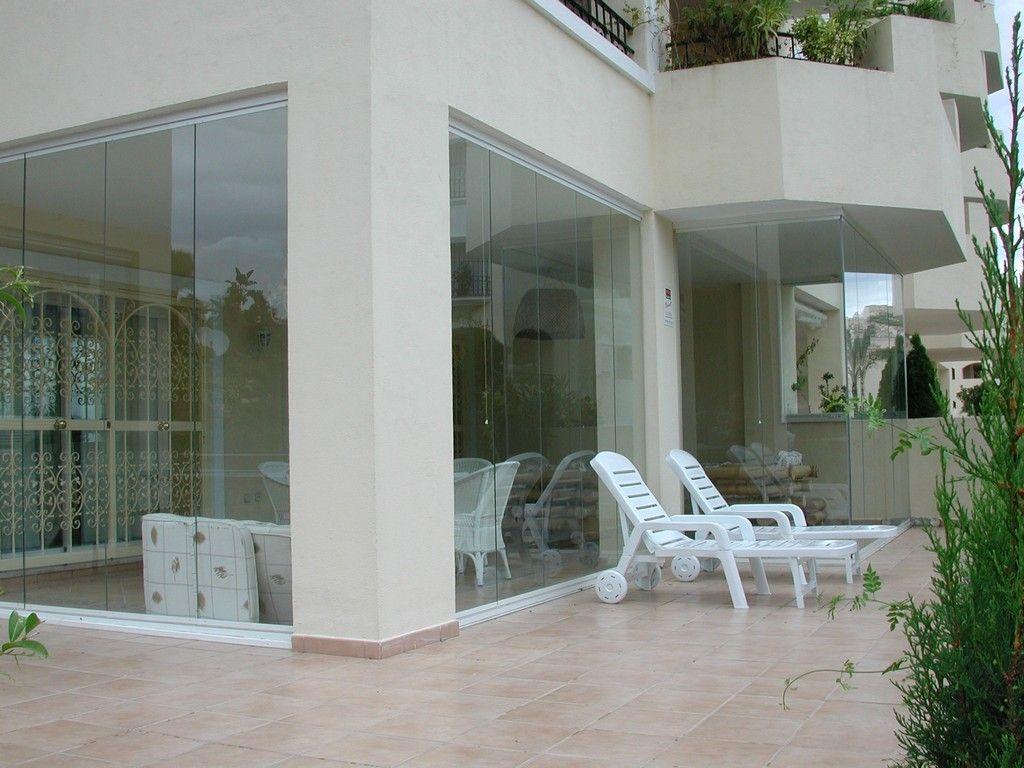 Instalación cortinas de cristal Murcia