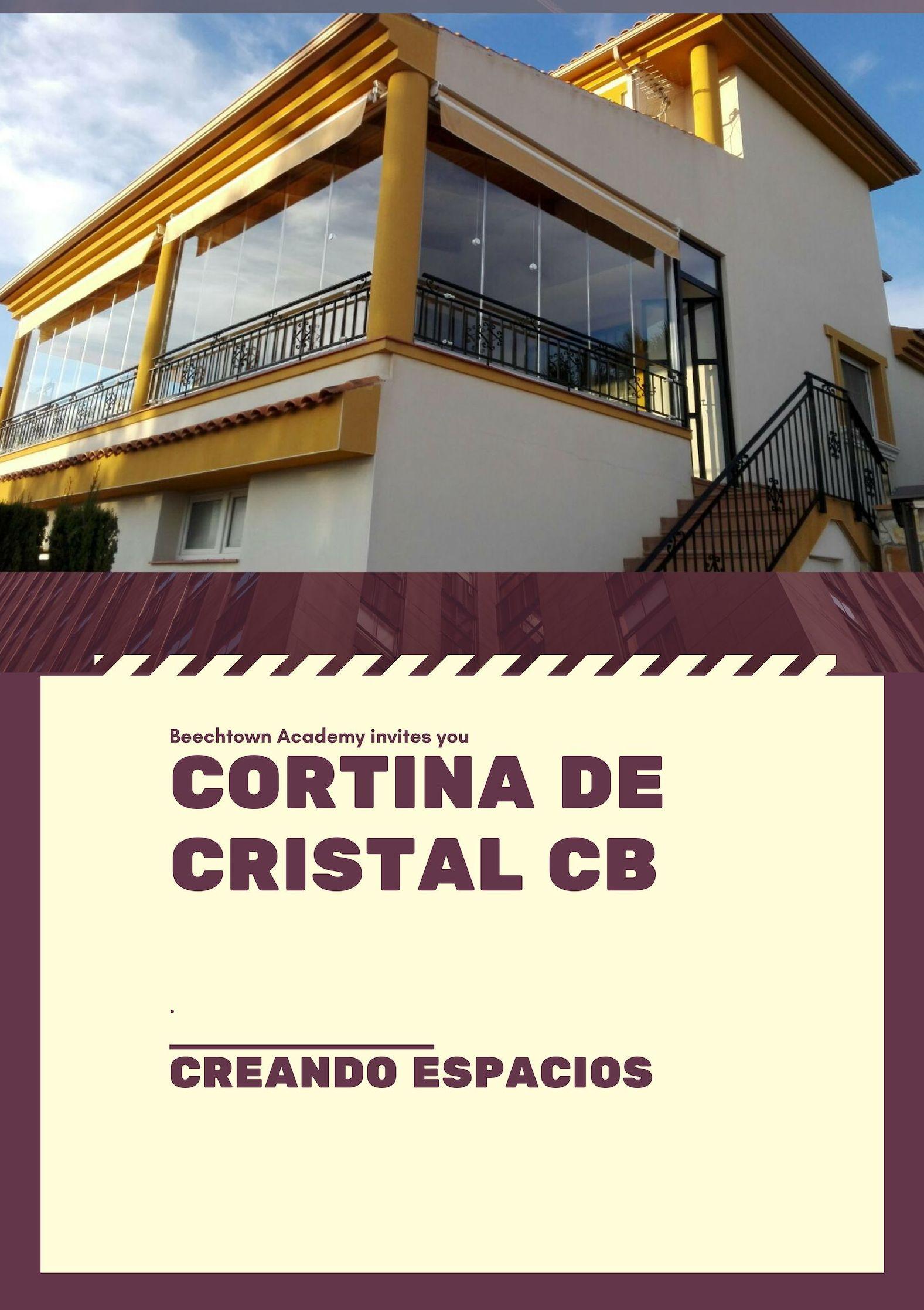 Foto 33 de Cristalerías en  | Cortina de Cristal CB
